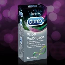DUREX PLACER PROLONGADO PRESERVATIVOS 12 U