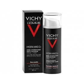 VICHY HOMME TTO HIDRATANTE 24H FORTIFICANTE HYDRA MAG C 50ML