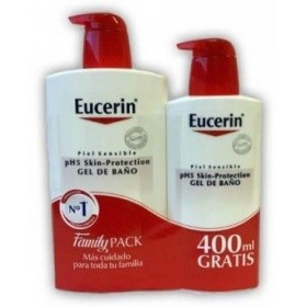 EUCERIN PIEL SENSIBLE PH-5 GEL DE BAÑO  1 L + 400 ML GRATIS