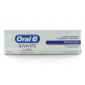 ORAL-B 3DWHITE LUXE PROTECCION DEL ESMALTE DENT  75 ML
