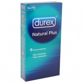 DUREX NATURAL PLUS PRESERVATIVOS 6 U