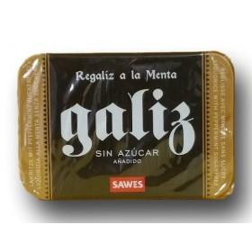 SAWES REGALIZ GALIZ SIN AZUCAR  CAJA 20 G