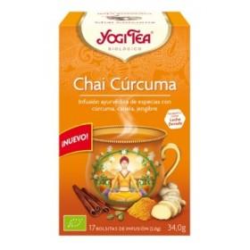 YOGI TEA CURCUMA CHAI  17 BOLSITAS 27.4G