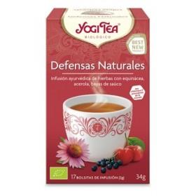 YOGI TEA DEFENSAS NATURALES 17 BOLSITAS 27.4G