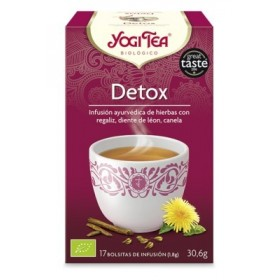 YOGI TEA INFUSION DETOX 17 BOLSITAS 27.4G