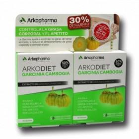 ARKOPHARMA GARCINIA CAMBOGIA PACK 45+45 2º UNIDAD 30%