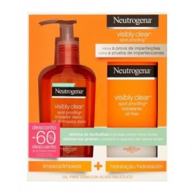 NEUTROGENA VISIBLY CLEARPACK LIMPIEZA 200ML/HIDRATACION 50ML