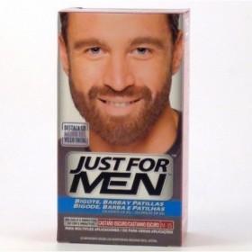 JUST FOR MEN BIGOTE Y BARBA GEL COLORANTE 1 ENVASE 30 ml COL