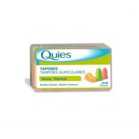 TAPONES OIDOS ESPUMA FLUO QUIES 6 U