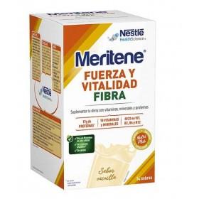 MERITENE FUERZA Y VITALIDAD FIBRA VAINILLA 35 G 14 SOBRES