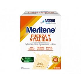 MERITENE FUERZA Y VITALIDAD VAINILLA 30 G 15 SOBRES
