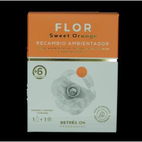 BETRES ON, RECAMBIO AMBIENTADOR FLOR PREMIUM ORANGE 85 ML