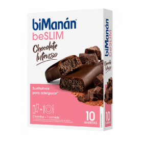 BIMANAN BARRITA CHOCOLATE INTENSO 10 BARRITAS DE 31G