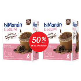 BIMANAN BESLIM BATIDO CHOCOLATE SUSTITUTIVO  2º UNIDAD 50%