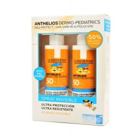 ANTHELIOS SPRAY INVISIBLE PEDIAT. SPF50+ 200ML DUPLO 2ºU 50%