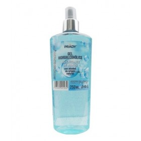 GEL HIDROALCOHOLICO PRADY EN SPRAY 250ML