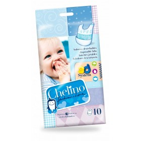 BABERO INFANTIL CHELINO FASHION & LOVE 10 BABEROS
