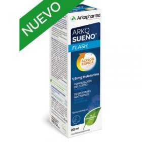 ARKORELAX SUEÑO FLASH SPRAY SUBLINGUAL 20 ML