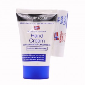 NEUTROGENA CREMA DE MANOS CONCENTRADA  50 ML + BARRA LABIOS