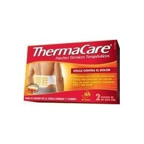 THERMACARE ZONA LUMBAR Y CADERA PARCHES TERMICOS 2 U