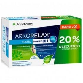 ARKORELAX SUEÑO FORTE 30 COMP PACK X 2 20% DES. 2º UNIDAD