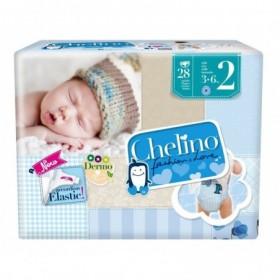 CHELINO FASHION & LOVE PAÑAL INFANTIL  T- 2 (3 - 6 KG) 28 PA