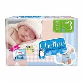 PAÑAL INFANTIL CHELINO FASHION & LOVE T- 3 (4 - 10 KG) 36 PA