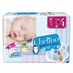 PAÑAL INFANTIL CHELINO FASHION & LOVE T- 4 (9 - 15 KG) 36 PA