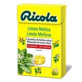 RICOLA CARAMELOS SIN AZUCAR  LIMON-MELISA 50 G